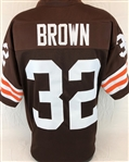 Jim Brown Cleveland Browns Custom Home Jersey Mens 3XL