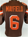 Baker Mayfield Cleveland Browns Custom Home Jersey Mens 3XL