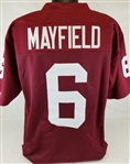 Baker Mayfield Oklahoma Sooners Custom Home Jersey Mens 2XL