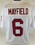 Baker Mayfield Oklahoma Sooners Custom Away Jersey Mens XL