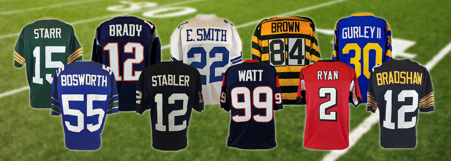 Football Memorabilia Football Jerseys